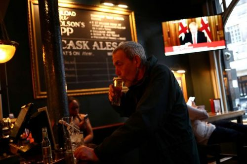 Johnson would shut pubs in England to keep schools open if virus flares
