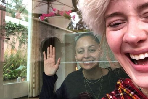 Adele terrified by Nicole Richie in hilarious video as slimline star shares their funniest moments