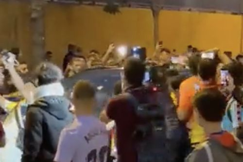 Ronald Koeman's car mobbed by furious Barcelona fans after Real Madrid defeat