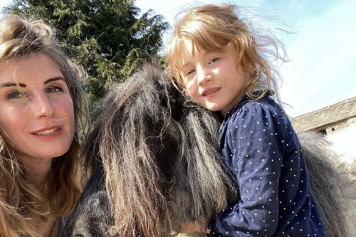 Yorkshire Shepherdess discovered pregnancy at five months after mistaking bump for 'middle-age spread'