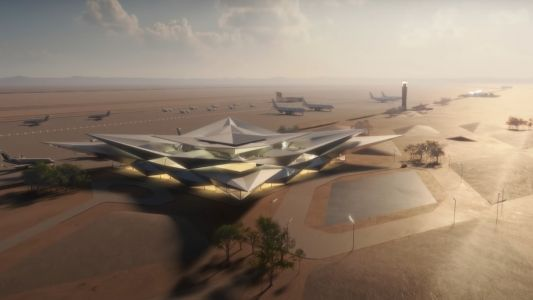 Video: New Saudi Arabia airport design unveiled
