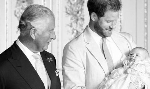 Meghan Markle and Harry release NEW photo of Archie in birthday message to Grandpa Charles