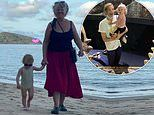 Jasmine Stefanovic shares sweet photo of her Harper on the beach with her grandmother Jenny