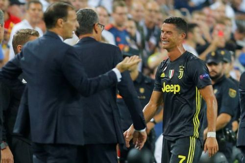 Cristiano Ronaldo SENT OFF on Champions League debut for Juventus as star sees red at Valencia