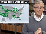 Bill Gates is now the biggest owner of FARMLAND in the US after buying up 242,000 acres
