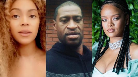 Beyonce and Rihanna demand justice for George Floyd as police officer Derek Chauvin charged with murder