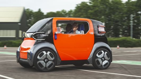 Citroen's Ami One Concept is an all-electric box of tricks