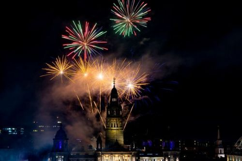 In pictures: Spectacular scenes as Edinburgh and Glasgow hold Christmas lights switch-ons