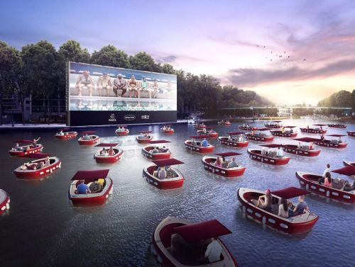 Paris is getting a socially distant floating boat cinema