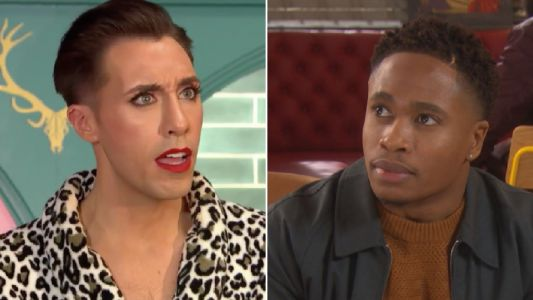 Does Scott tell Mitchell that Felix sold Toby and Celeste in Hollyoaks?