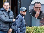 Manchester United playmaker Fred meets up with advisor Gilberto Silva after losing starting spot
