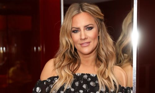 Caroline Flack's adorable heart-print mini dress is selling out FAST - and it's available on ASOS