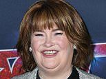 Susan Boyle, 58, unveils her groomed new look at the America's Got Talent quarter finals