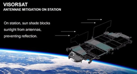 SpaceX to debut satellite-dimming sunshade on next Starlink launch