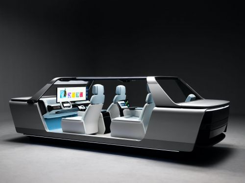 Samsung has unveiled a 'digital cockpit' concept that puts a 49-inch screen in front of the windshield - see how it works