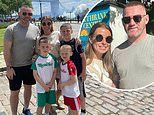 Coleen Rooney shares sweet tribute to husband Wayne as they celebrate 13th wedding anniversary