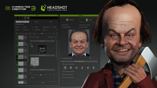 Create cool caricatures quickly with this powerful 3D tool