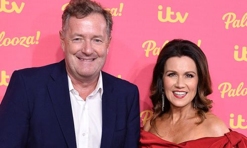 Piers Morgan shares hilarious holiday photos with daughter Elise - and look who she's taking after!