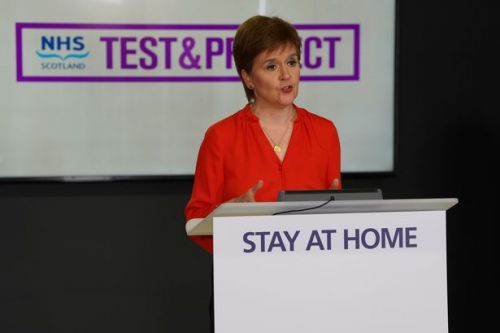 Janey Godley takes aim at 'bammy b******s' in latest Nicola Sturgeon voice over