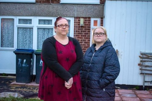 Grieving sisters kicked out of council house weeks after mum died of Covid