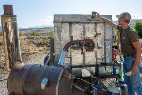 Nonprofit finds hope against wildfires with unexpected ally: charcoal
