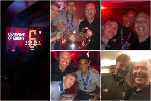 """""""A night dreams are made of"""" - Inside the Liverpool squad's European Cup party in Madrid"""