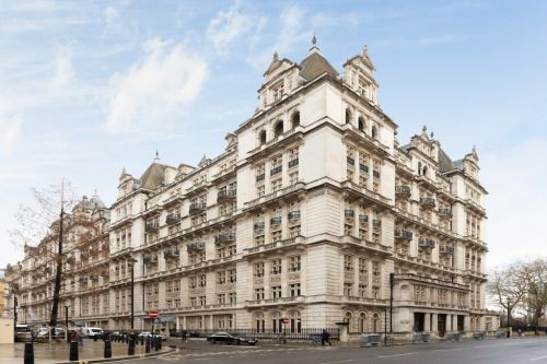 A penthouse in the ex MI6 headquarters has gone on sale for £5.5million
