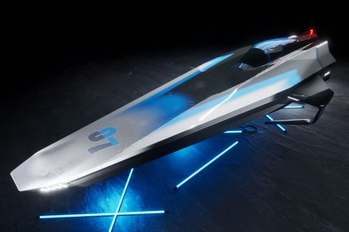 Concept revealed for Agag-backed E1 Series for electric powerboats