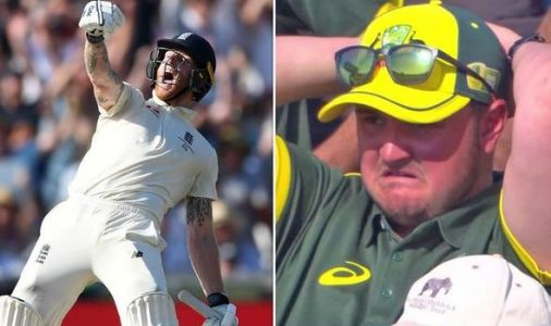 See Ben Stokes' amazing reaction after Ashes heroics which leaves Australia fans fuming