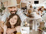Couple spends more than $100,000 renovating a BUS to travel in after selling their home