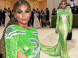 Ciara pays homage to husband Russell Wilson with football-themed gown at Met Gala