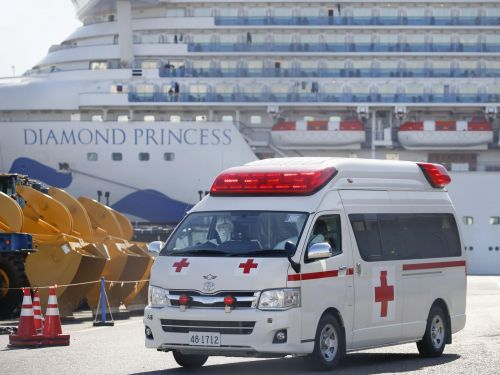 A staggering 542 passengers been diagnosed with COVID-19 on the quarantined Diamond Princess cruise ship