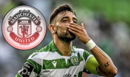 Man Utd officials in Lisbon to thrash out Bruno Fernandes transfer before Benfica derby