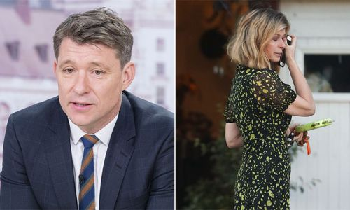 Ben Shephard and Piers Morgan send their love to Kate Garraway after watching her break down in tears