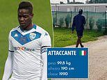 Mario Balotelli's war with Brescia continues as club's website updates his weight to 99.8kg