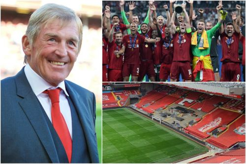 Kenny Dalglish to present Liverpool with the Premier League trophy at Anfield