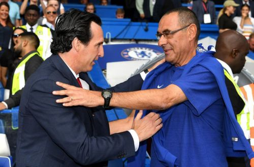 Unai Emery insists he did shake hands with Maurizio Sarri after Arsenal defeat