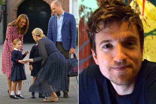 Greg James told off by Prince William and Kate Middleton over mocking Charlotte