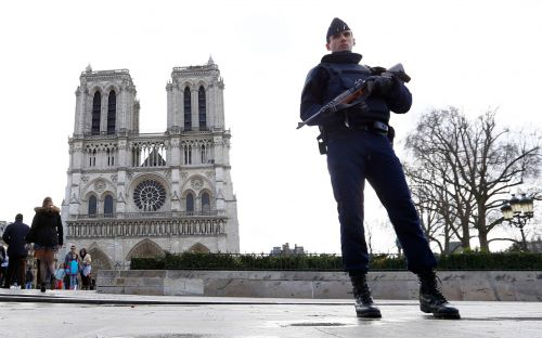 Five women botched Notre-Dame car bomb terror plot by 'using wrong fuel' to light fuse, Paris court hears