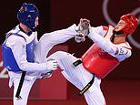 Team GB WINS! Taekwondo star Bradly Sinden, 22, secures Britain's first Olympics medal in Tokyo