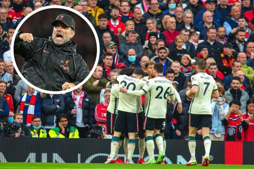 """""""They could hear us in Liverpool!"""" - Old Trafford changing room celebrations revealed"""