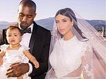 Kim Kardashian and Kanye West's five-year-wedding anniversary