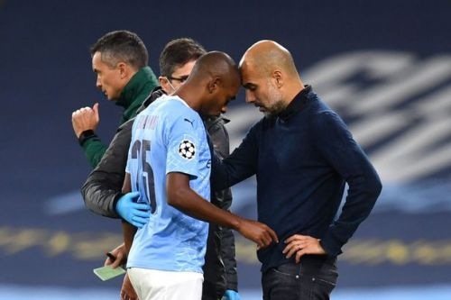 Fernandinho hands Man City fresh injury blow as Guardiola confirms leg injury