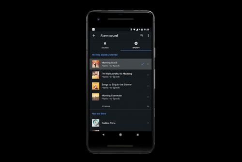 How to set up Spotify music alarms in the Google Clock app