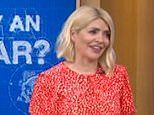 Holly Willoughby tellsAlice Beer to 'slow down' as she drives an electric car into the studio