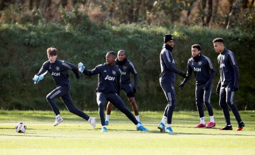 Manchester United handed Jesse Lingard injury boost ahead of Partizan clash - but David de Gea misses training