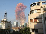 Massive explosion rocks Beirut destroying buildings