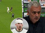 'We were calling him Zidane!': Jose Mourinho jokes about Pierre-Emile Hojbjerg's double pirouette