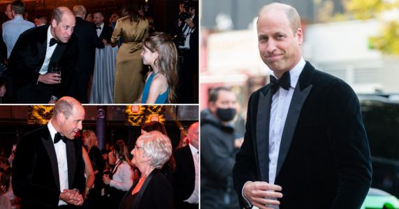 William hears tales of 'astonishing courage' and medical marvels at awards ceremony