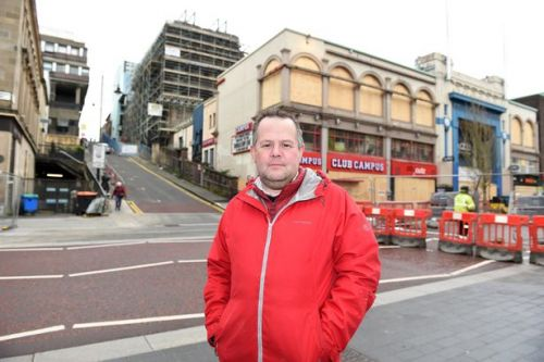 Business owner raging over £4k water bill for premises he can't access